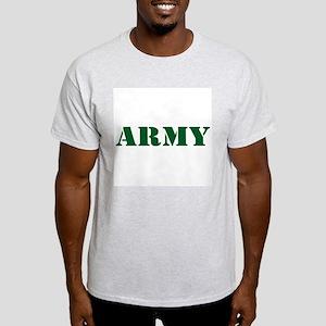 ARMY WIFE Ash Grey T-Shirt