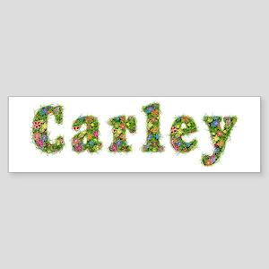 Carley Floral Bumper Sticker