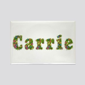 Carrie Floral Rectangle Magnet