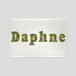 Daphne Floral Rectangle Magnet