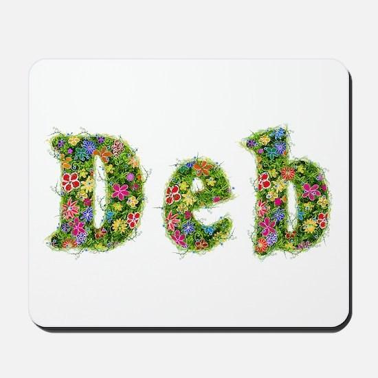 Deb Floral Mousepad