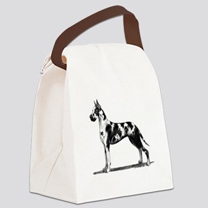 Great Dane Canvas Lunch Bag