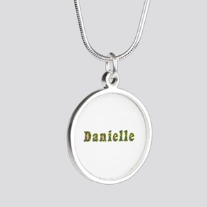 Danielle Floral Silver Round Necklace