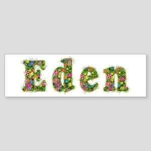 Eden Floral Bumper Sticker