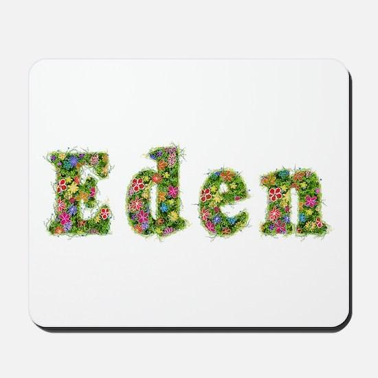 Eden Floral Mousepad