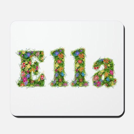 Ella Floral Mousepad