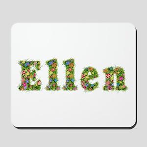 Ellen Floral Mousepad