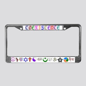 No More Fear License Plate Frame