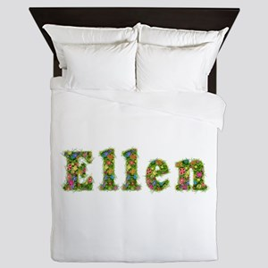 Ellen Floral Queen Duvet