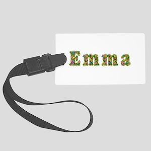 Emma Floral Large Luggage Tag