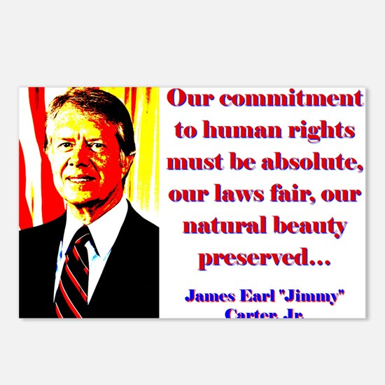 Our Commitment To Human Rights - Jimmy Carter Post