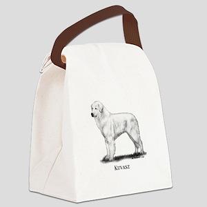 Kuvasz Canvas Lunch Bag