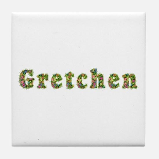 Gretchen Floral Tile Coaster