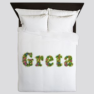 Greta Floral Queen Duvet