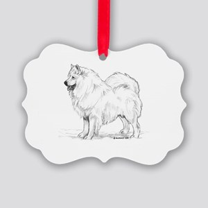 Samoyed Picture Ornament