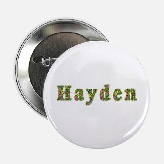 Hayden Floral Button