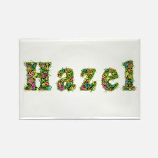Hazel Floral Rectangle Magnet