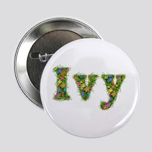 Ivy Floral Button