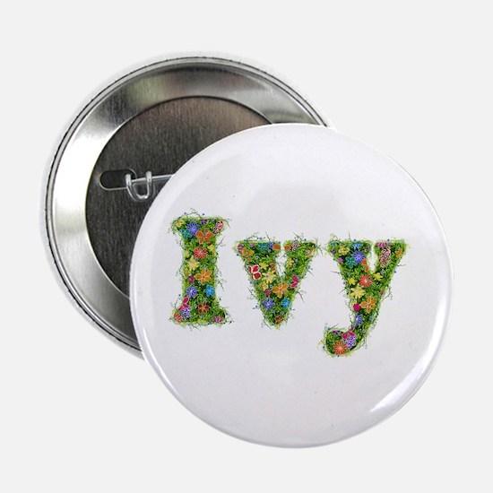 Ivy Floral Button