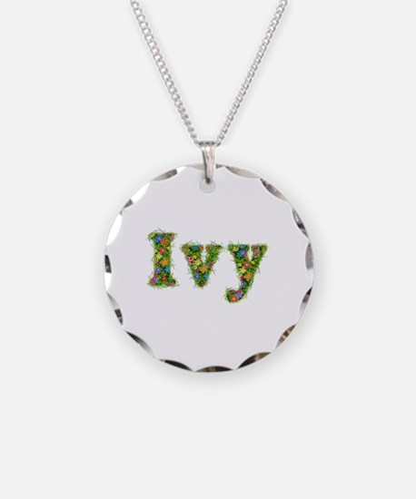 Ivy Floral Necklace