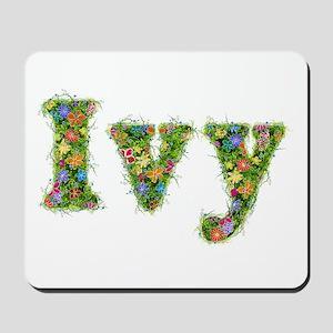 Ivy Floral Mousepad
