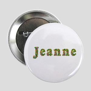 Jeanne Floral Button