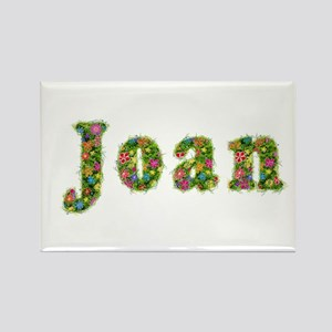 Joan Floral Rectangle Magnet