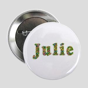 Julie Floral Button