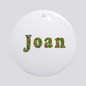 Joan Floral Round Ornament
