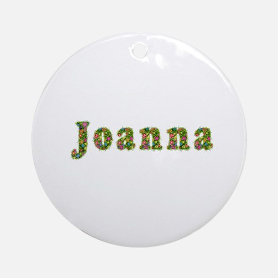 Joanna Floral Round Ornament