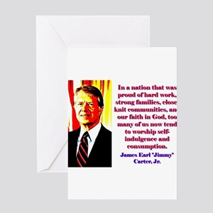 In A Nation That Was Proud - Jimmy Carter Greeting