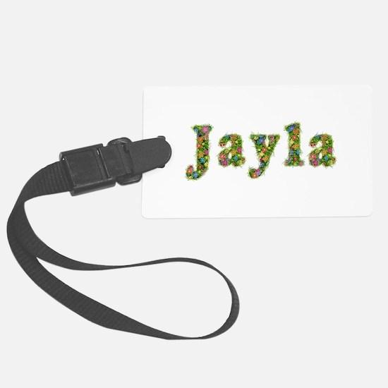 Jayla Floral Luggage Tag