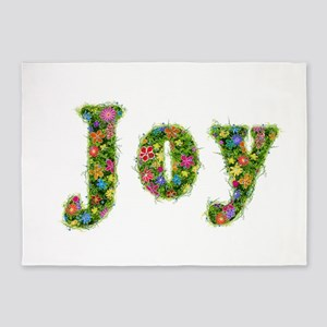 Joy Floral 5'x7' Area Rug