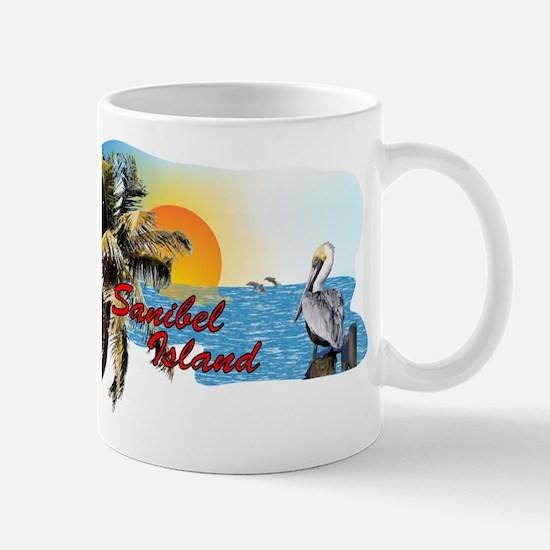 Sanibel Sunset Scene Mug