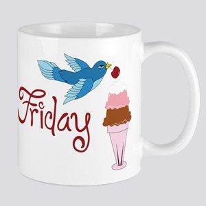 Blue Bird Friday Mug
