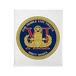 EOD Mobile Unit 12 Throw Blanket