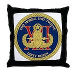EOD Mobile Unit 12 Throw Pillow