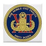 EOD Mobile Unit 12 Tile Coaster