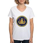 EOD Mobile Unit 12 Women's V-Neck T-Shirt