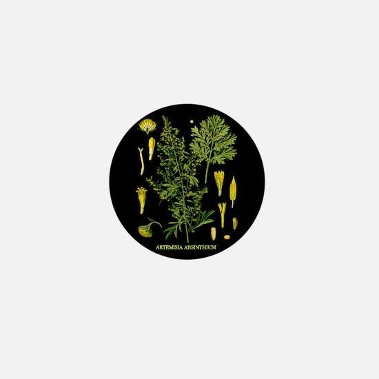 Artemesia Absinthium Mini Button