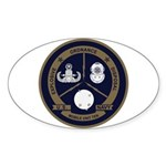 EOD Mobile Unit 10 Sticker (Oval)