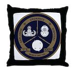 EOD Mobile Unit 10 Throw Pillow
