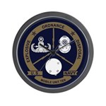 EOD Mobile Unit 10 Wall Clock