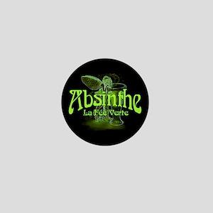 Absinthe Fairy Dark Mini Button