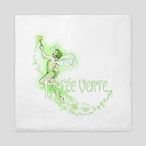 Absinthe Fairy Flying Queen Duvet