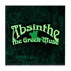 Absinthe The Green Muse Tile Coaster