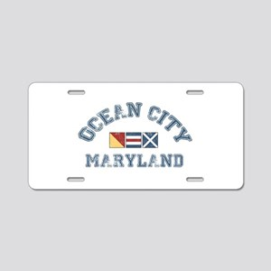 Ocean City MD - Nautical Design. Aluminum License