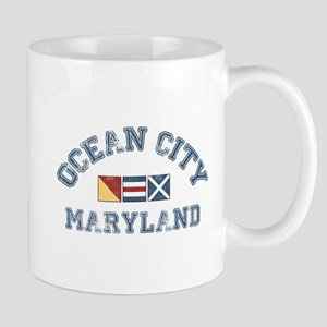 Ocean City MD - Nautical Design. Mug