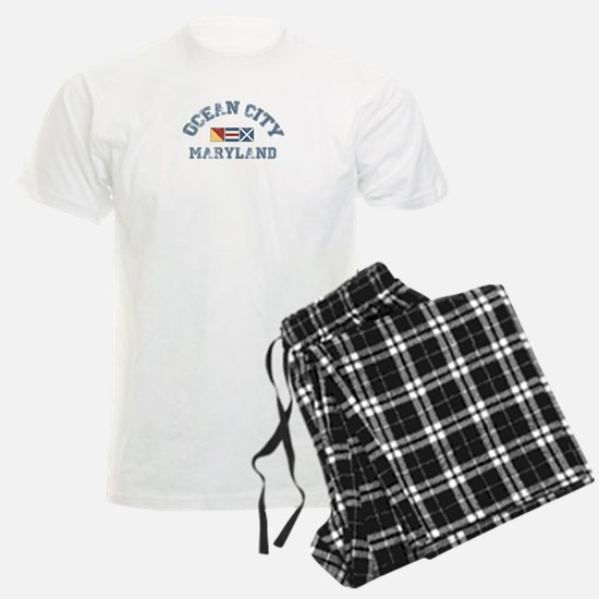Ocean City MD - Nautical Design. Pajamas