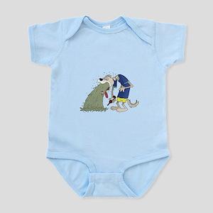 Vomiting dog Infant Bodysuit